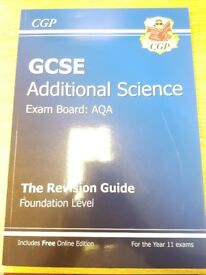 CGP GCSE Additional Science Revision Guide