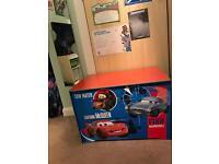 Wooden Disney cars toy box