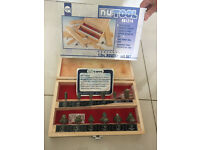 Nutool router set, brand new still in packaging