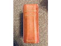 Blacks Medical Dictionary 1926 - Eighth Edition, antique book