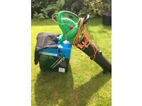 Garden vac blower