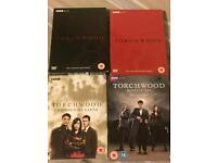 Torchwood- The complete DVD collection