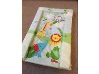 Fisher Price baby changing mat