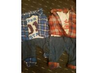 Boys 0-3 months clothes bundle