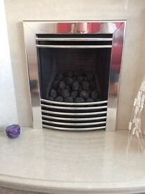 Gas fire - Firecraft XL04 for sale. Excellent condition, hardly used. W 510 x H 600.