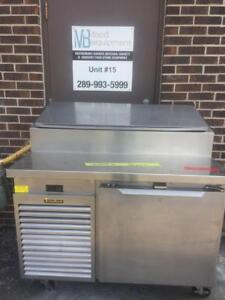 Traulsen TSO48HT Pizza Sandwishes Salad Refrigerated Prep Table