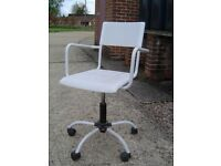 Plastic Office Chair on casters and swivels