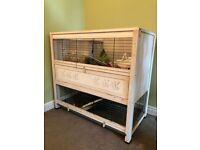 Indoor rabbit/guinea pig house