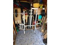 Tnp Accessories weight bench and weights
