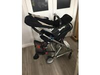 Full Set Mamas and Papas pushchair + buggy board