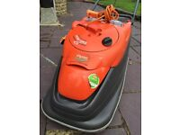 Flymo Vision Comact 330 Electric Lawnmower - very good condition