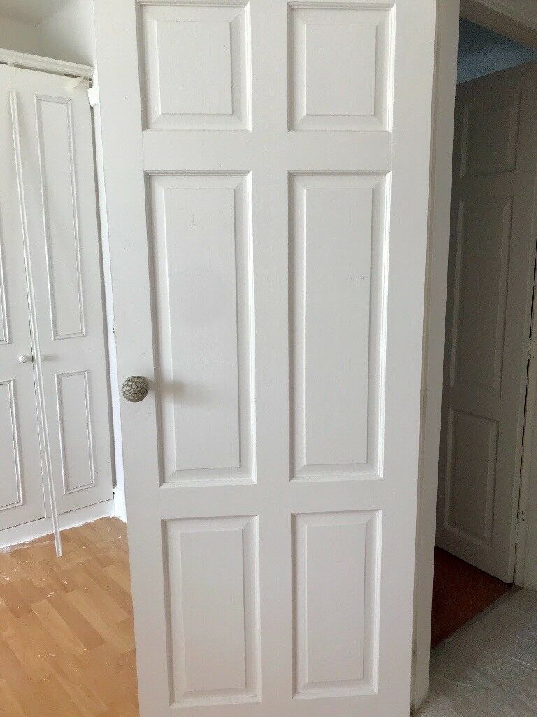 Four Solid Wood Interior Doors