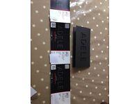 3 Adele tickets - 2 July- Wembley Stadium
