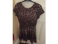 Kids leopard dress