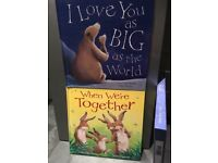 AS NEW, When we are together, & I Love you as big as the world,twin hardback books boxed pack.RRP£22