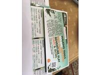 Kasabian tickets Thetford forest
