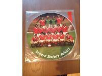 Man Utd picture disc record vinyl, £10