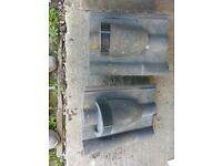 Marley double roman concrete vent tiles x2