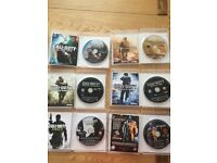 6 PS3 games not used by children, still in original boxes with game booklets. In Excellent condition