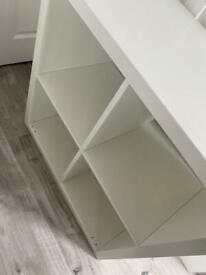 Kallax 4 cube unit white