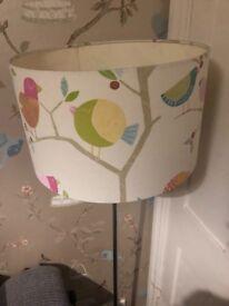 Owl design floor lamp