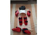Karate sparring kit