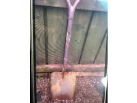 Great shovel for sale good for moving stones it is a heavy shovel
