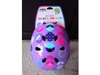 ***BRAND NEW*** Micro Scooter (Bike) Safety Helmet in Floral Dot