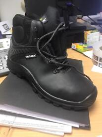 Work boots steel toe - Trojan s3 safety boot