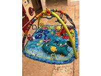 Baby Einstein Nautical Friends Baby Gym Playmat