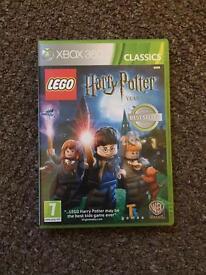 Xbox 360 Harry Potter lego years 1-4