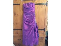 Stunning brand new, never worn (label on) bridesmaids dress. Size 12.
