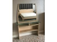 Gautier Dressing Table, mirror and Chair