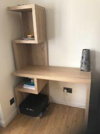 Next Desk - Light Oak