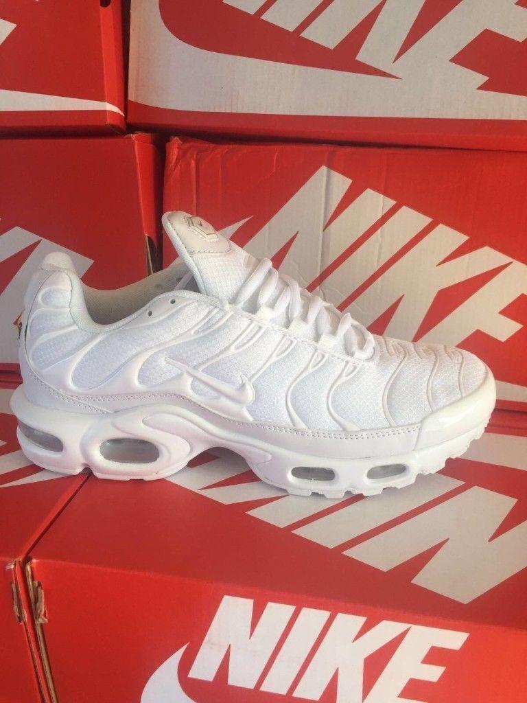 new product 47556 01fe2 Mens Sizes 7 - 8 - 10 - 11 White Nike Air Max TNs BNIB | in Sutton, London  | Gumtree