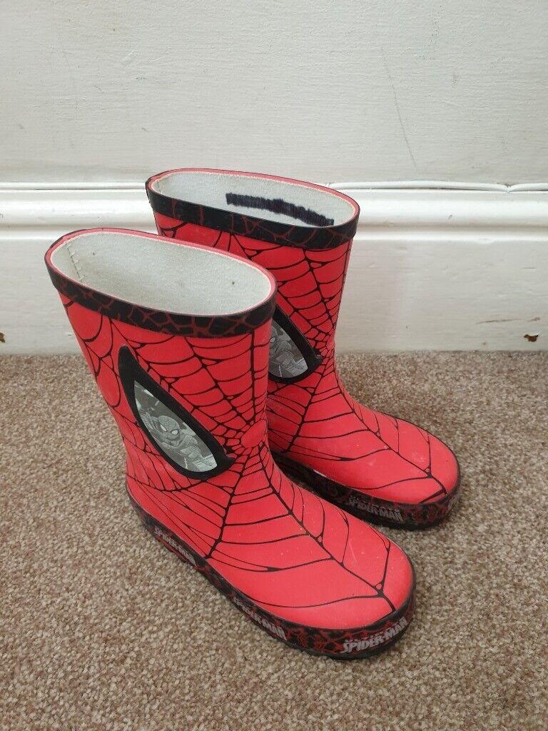 2e559fdd775 Spiderman Wellington Boots, Size 11 Kids Infant Junior | in Cambridge,  Cambridgeshire | Gumtree