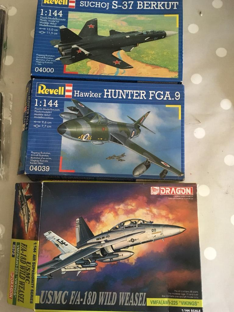 revell and dragon model airplane kits in crediton devon gumtree