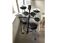 Roland TD-1K V-Drums Electronic Drum Kit + Stool + Music stand