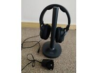 Sony Wireless MDR-RF895RK Black Headphones