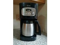 Vintage John Lewis coffee machine Colour black