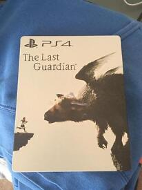 The last guardian PS4 steel book