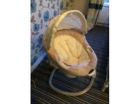 Graco baby motorised swing.