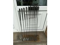 Vintage Henry Cotton, Rustless Ulster set of golf clubs