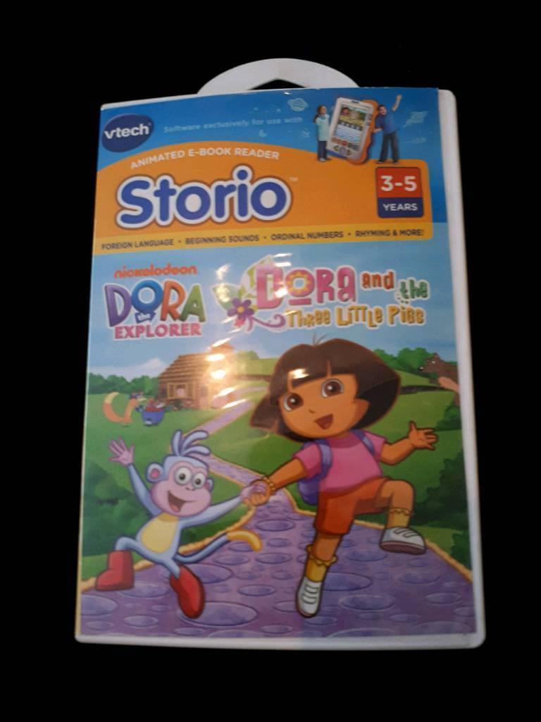 """V-TECH STORIO """"DORA EXPLORER GAME"""