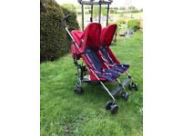 Maclaren twin triumph Pushchair stroller, used for sale  Kings Worthy, Hampshire