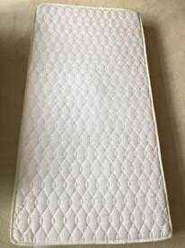 Cot bed mattress - excellent condition