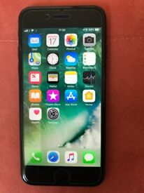 iPhone 7 32GB black. Boxed in mint condition.