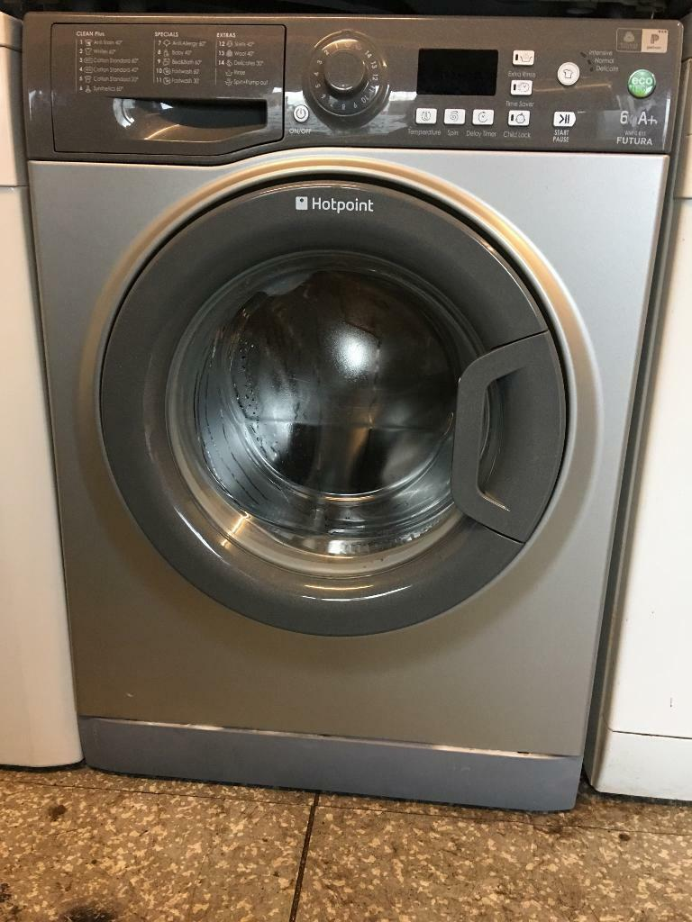 Silver hot point washing machine 6kg futura