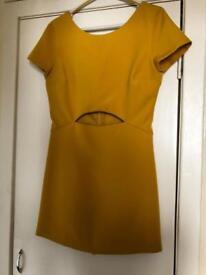 Zara Play suit mustard colour size 12
