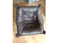 Odd Knutsen Leather Chair
